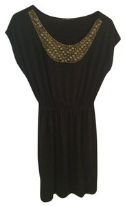 Soprano short dress black Embellished on Tradesy
