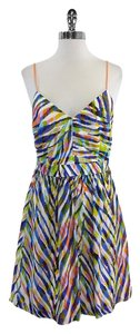 Trina Turk short dress Multi Color Adjustable Strap Silk on Tradesy