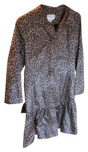 Charles Gray London Leopard Print Blazer
