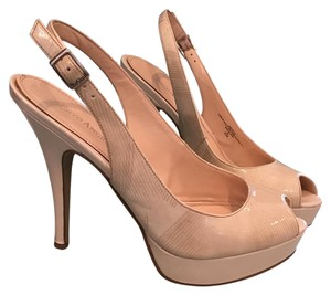 Enzo Angiolini Cream Platforms