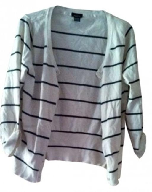 Preload https://item4.tradesy.com/images/rue-21-grey-and-white-striped-cardigan-size-16-xl-plus-0x-192763-0-0.jpg?width=400&height=650
