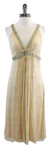 Maria Bianca Nero Empire Waist Silk Dress