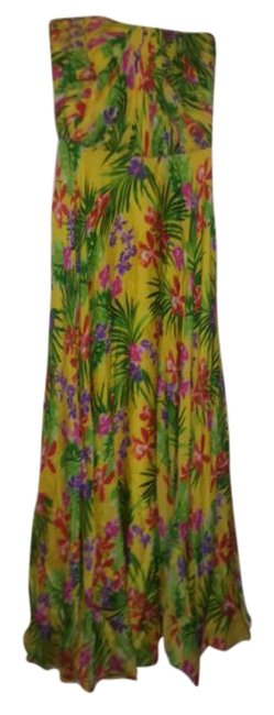 Preload https://img-static.tradesy.com/item/19276471/ralph-lauren-collection-multicolor-long-night-out-dress-size-8-m-0-1-650-650.jpg