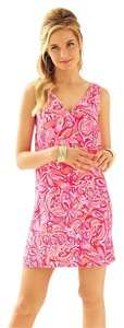 Lilly Pulitzer V-neck Printed Summer Dress