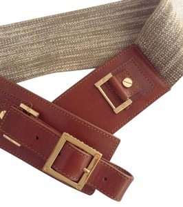 Tory Burch TORY BURCH Khaki/Brown belt