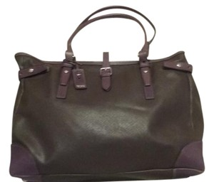 Tumi Silverstone Hardware Extra Large Weekend Tote in brown