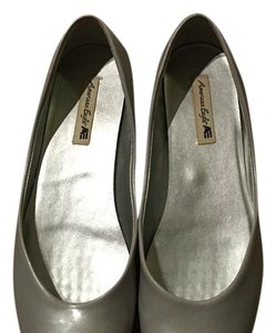 American Eagle Outfitters Gray Flats