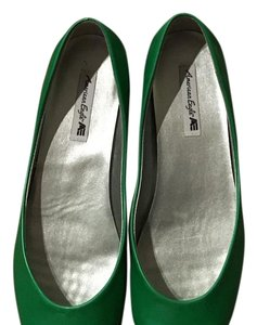 American Eagle Outfitters Green Flats