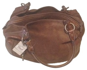 Fossil Tote in Cognac
