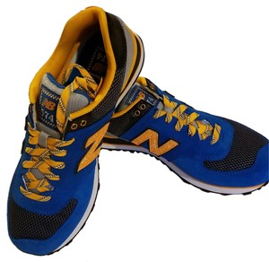 New Balance Sneakers Exercise Fitness Training blue, orange, black Athletic