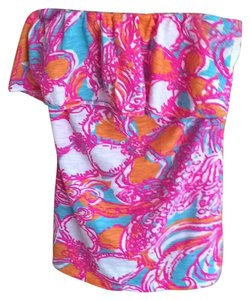Lilly Pulitzer Top Mulit Pink