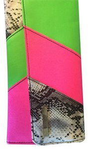Kenneth Cole Reaction Neon Clutch
