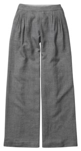 Anthropologie Elevenses Wool Wide Leg Pants