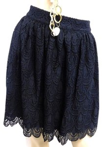 Soprano Lace Mini Junior Mini Skirt BLACK