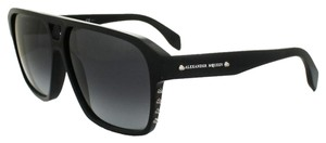 Alexander McQueen Oversized squared sunglasses with studs