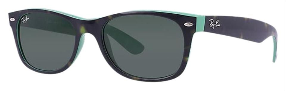 b37739ccbc Ray-Ban Tortoise   Green Rb2132 6013 New Wayfarer Color Mix ...