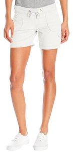 UNIONBAY Drawstring Mini/Short Shorts White