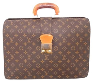 Louis Vuitton Business Office Laptop Tote Satchel in Browm