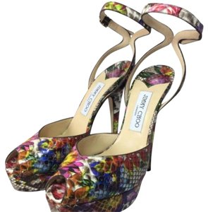 Jimmy Choo Multicolor Platforms
