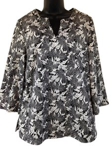 Talbots Floral Tunic