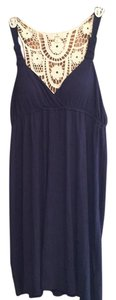 Pink Republic short dress Navy on Tradesy