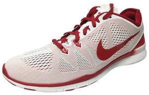 Nike White/Red Athletic