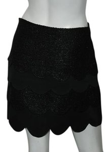 Twinkle by Wenlan Mini Skirt Taupe
