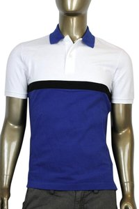 Gucci Polo Golf T Shirt White/Blue