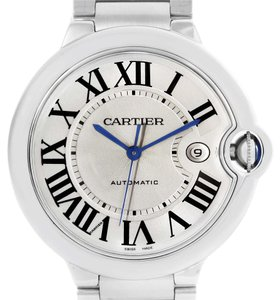 Cartier Cartier Ballon Bleu Mens Stainless Steel Automatic Watch W69012Z4