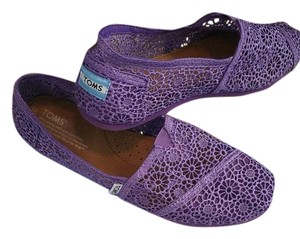 TOMS Purple Flats