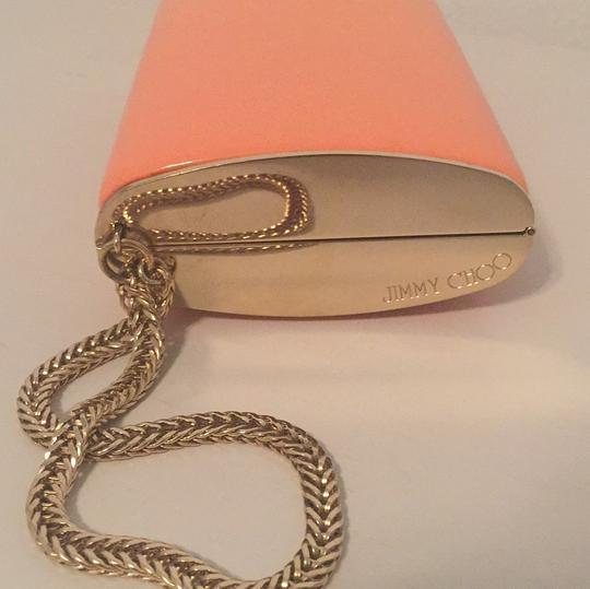 Jimmy Choo Wristlet in Coral