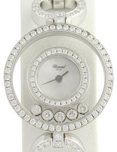 Chopard Rare Chopard Happy Diamonds Ladies Watch - 18k White Gold 3.48ctw