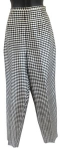 Allison Taylor Trouser Pants Black and White