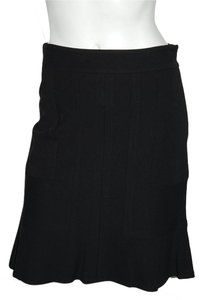 DKNY Mesh Full Skirt Black