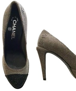 Chanel Black & Grey Pumps