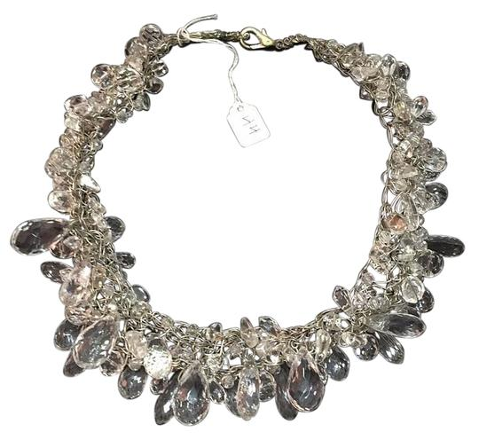 Preload https://img-static.tradesy.com/item/19281661/hand-crafted-collar-of-crystals-on-knitted-silver-wire-new-necklace-0-2-540-540.jpg
