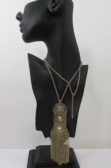 Forever 21 Forever 21 Women Antique Gold Metal Chain 25 Long Necklace