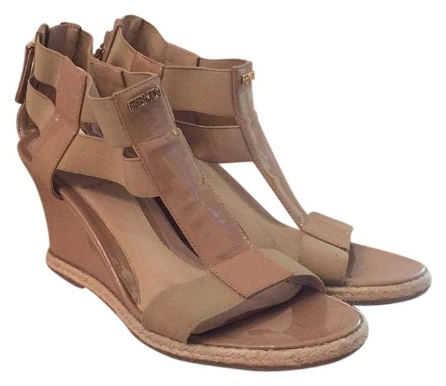 Fendi Wedges Size US 7.5 Regular (M, B) Fendi Wedges Size US 7.5 Regular (M, B) Image 1