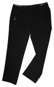 Larry Levine Straight Pants Black