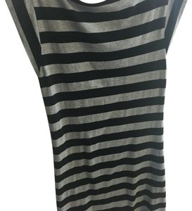 French Connection short dress Black, grey on Tradesy