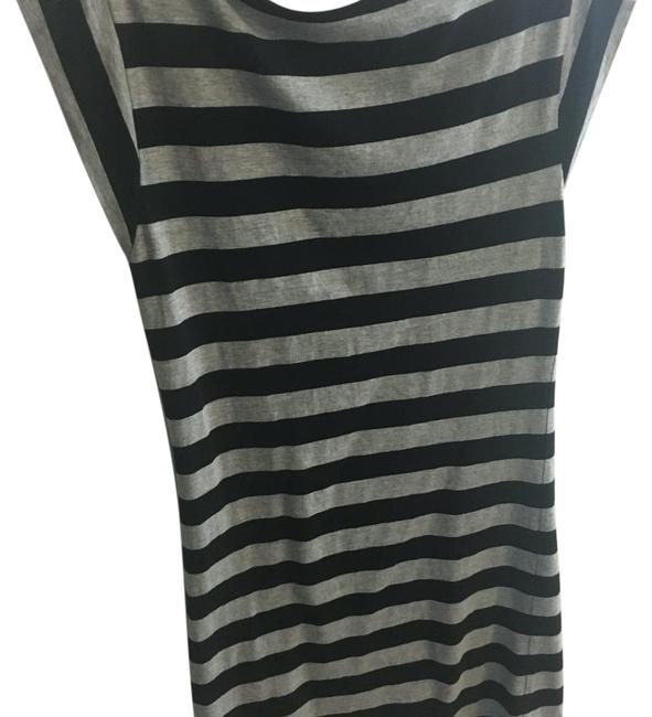 Preload https://img-static.tradesy.com/item/19282537/french-connection-black-grey-t-shirt-knee-length-short-casual-dress-size-6-s-0-1-650-650.jpg