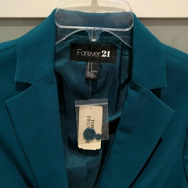 Forever 21 Small Jacket Teal Blazer