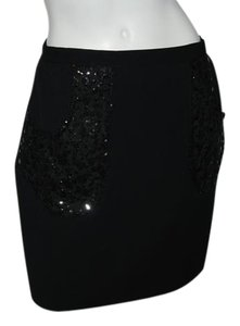 Sachin + Babi Dove Mini Skirt black