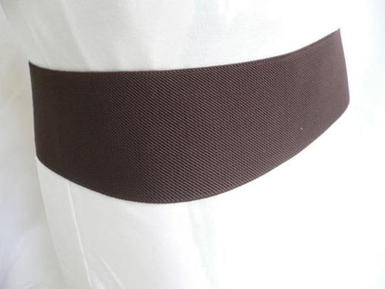 Other Chic Women Hip Elastic High Waist Stretch Brown Belt