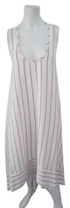 Off White Maxi Dress by BCBGMAXAZRIA Bcbg Hog-low Hem Nwt