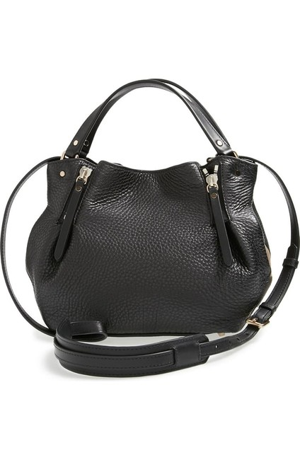 Burberry Small Maidstone Leather Black Tote Burberry Small Maidstone Leather Black Tote Image 1