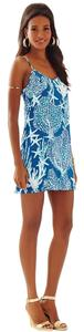 Lilly Pulitzer short dress Indigo Good Roof on Tradesy