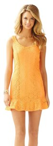 Lilly Pulitzer short dress Peach on Tradesy