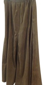 Coldwater Creek Maxi Skirt green