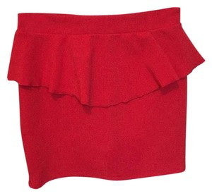 Xhilaration Mini Skirt Red